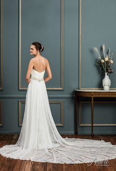 [tps_header]Amare Couture is committed to designing and producing hand crafted bridal gowns that reflect fashion-forward designs. Each Amare Couture gown is hand-made using the finest quality fabrics and lace, Swarovs...