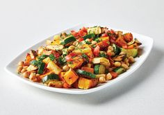 Free mike's throw out roasted vegetable salad recipe. Try this free, quick and easy mike's throw out roasted vegetable salad recipe from countdown.co.nz. Roasted Vegetable Salad, Vegetable Salad Recipes, Easy Salad Recipes, Roasted Vegetables, Canned Chickpeas, Chickpea Salad, Latest Recipe, Recipe Collection, Quick Meals