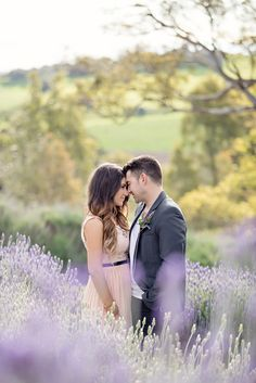 love in a lavender field Photography By / http://lifeinstillphotography.net.au