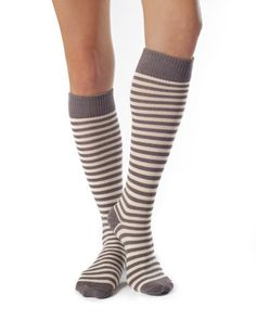 Annabel- Organic Cotton Knee Socks by Zkano - $15.00  Made in the USA