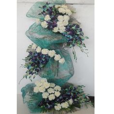 spiral flower arrangement - Google Search