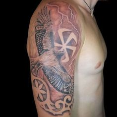 #wotan #odal #tattoo #vikings #viking #ragnar #thor #rune #pagan #nordic #nord #тату #татуировки #традиция #славяне #викинги #варяги #одал #перун #велес #эскизы #РОД #язычество #руны #русь #русич #tattoos #nordland