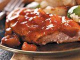 applesauce bbq pork