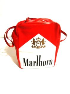 Unisex Accessories · Marlboro Gear Purse Bag Red Vintage Handbag oversized  manpurse  fashion  clothing  shoes   a2a7e569b543