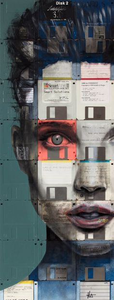 Crazy inspiring collage by Nick Gentry#Repin By:Pinterest++ for iPad#