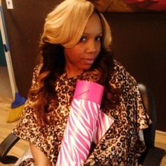 "Styled by Tishima ""Weavadiva"" Gramby. In Stylist at Queen of Diamonds Hair Boutique www.queenofdiamondshairboutique.com"