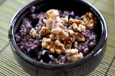 Steel Cut Oats With Blueberries | Toothfood