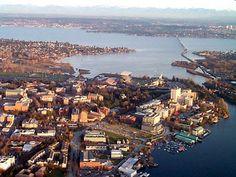 Lake Washington, Seattle, Washington