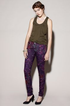 Tie Dye Snake Printed Skinny Jeans http://thriftedandmodern.com/tie-dye-snake-print-jeans