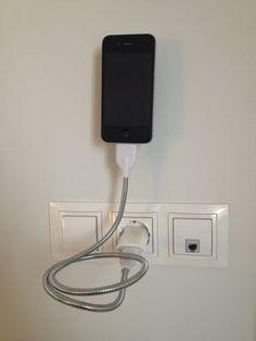 Reportajes de accesorios iPhone, iPad y noticias: Review Une Bobine, cable flexible, stand, cargador y trípode para iPhone