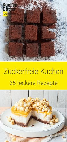 37 recipes for sugar-free cakes - free means free of sweet treats? Are you kidding me? Are you serious when you say that! Are You Serious, Protein Foods, Protein Smoothies, Food Items, Yummy Cakes, Smoothie Recipes, Lunch Smoothie, Sugar Free, Clean Eating