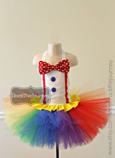 Polka Dot Circus Carnival Clown Rainbow BIrthday Party Tutu Outfit - Pageant - Costume - Outfit Baby girl 6mos - 5T   https://www.etsy.com/listing/125812760/polka-dot-circus-carnival-clown-rainbow?ref=sr_gallery_19&ga_search_query=girl+carnival+party&ga_view_type=gallery&ga_ship_to=US&ga_ref=auto1&ga_search_type=all&ga_facet=girl+carnival+party