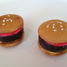 """Hamburger"" Cookies"