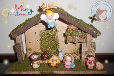 Nativity scene   #Fimo #PolymerClay #tuttofimo #Christmas #Xmas #Nativity