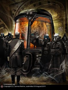 The second in a series of 'Steampunk' Dune photo illustrations. Essentially a collage of images composited to a narrative image. Here Emperor Shaddam IV has an audience with the chief navigator of . David Lynch, Dune Book, Dune Frank Herbert, Dune Art, Star Wars, Classic Sci Fi, Sci Fi Characters, Science Fiction Art, Movies