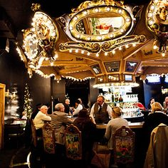 Carousel Bar & Lounge at Hotel Monteleone, New Orleans, Louisiana - 100 Best Bars in the South - Southern Living Southern Comfort, Southern Living, Liquor Bar, Bar Lounge, Cool Bars, Vacation Spots, Carousel, Louisiana, New Orleans