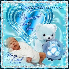 For anyone to send to the proud parents. Free online A Lovely Baby Boy ecards on Congratulations Baby Boy Poems, Baby Boy Messages, Baby Boy Quotes, Wishes For Baby Boy, Welcome Baby Boys, New Born Baby Status, Congratulations For Baby Boy, Baby Boy Nursery Themes, Thing 1