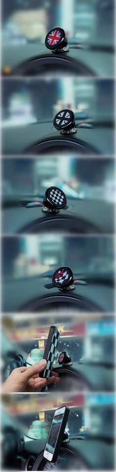 bling magnetic cell phone holder for mini cooper