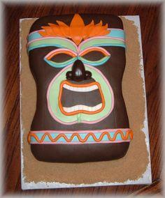 Fun Tiki Cake!