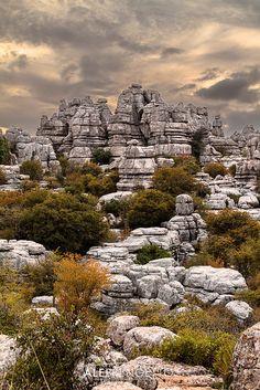 Path of rocks