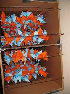 How to String/Transport 1000 Paper Cranes - Project Wedding