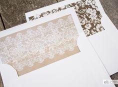 Free rustic envelope liner printable templates