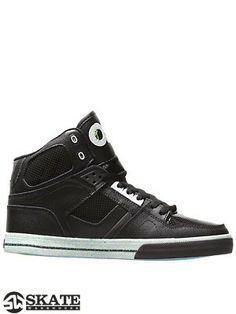 buy popular 77ad6 cc4b7 Osiris NYC 83 VLC Shoes Black White Splat