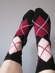 Ravelry: Argyle Socks pattern by Margie Dougherty