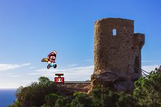 Real Bits - Super Mario World Castle Demolition by ~VictorSauron on deviantART