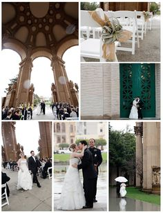 Palace of Fine Arts: Magic in the Rain on @IDoVenues. Photos by #MichelleWalker;  http://www.idovenues.com/wedding-venues/palace-of-fine-arts-magic-in-the-rain/