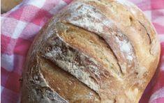 Recept voor luie bakkers: brood zonder kneden - Genoeg Sem Gluten Sem Lactose, Banana, Multigrain, Homemade, Food, Breads, Creativity, Mini, Healthy Foods