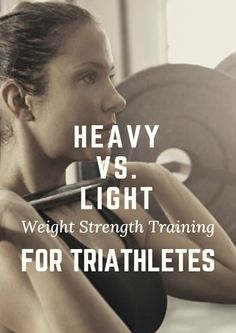 What is the best way to strength train as a triathlete? Is using heavy or light weights better? Here's the answer for each. Heavy vs. Light Weight Strength Training for Triathletes    Triathlon     Triathlon training     Triathlon motivation   #Triathlon #Triathlontraining   https://www.ninjaguide.com/