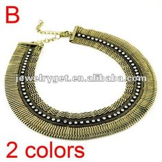 Aliexpress.com : Buy Fashion Oversized Bib Necklace, Jewelry Chunky Orbit Choker Necklace, Rhinestone Embellished, NL 1697 from Reliable rhinestone necklace suppliers on Well Done Fashion Jewelry Co.,Ltd. $14.43
