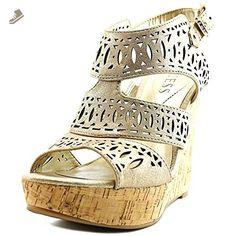 Guess Vannora Women US 7 Bronze Wedge Heel - Guess pumps for women (*Amazon Partner-Link)