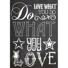 Love What You Do Canvas Art
