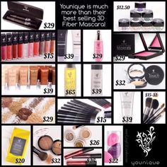 Younique is much more than just the mascara. Its also about the lipgloss bb 3d Mascara, 3d Fiber Lashes, 3d Fiber Lash Mascara, Younique, Uplift Eye Serum, Eyeliner, Eyeshadow, Best Lashes, Lip Liner