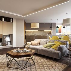 Living Room Ideas For Apartments modern style living room tv back   modern interior design ideas