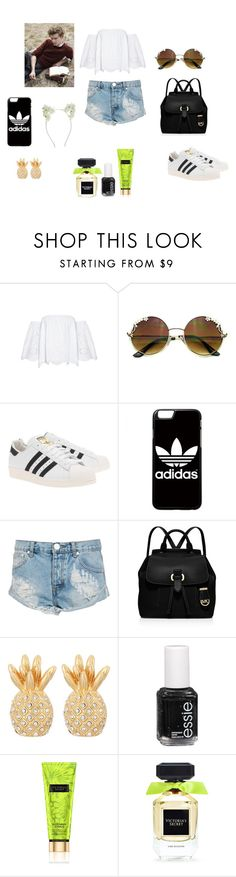 """""""Thomas Brodie Sangster 1"""" by ananyakochhar on Polyvore featuring adidas Originals, adidas, One Teaspoon, MICHAEL Michael Kors, Lilly Pulitzer, Essie, Victoria's Secret, Paul Brodie and Accessorize"""