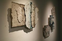 Fragments, porcelain composition by Carol Sinclair