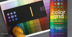 Liven up your color choices with the Color Grid! Read more on the WEBS Blog at blog.yarn.com