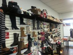Shoes and Boots oh my!  At Chocolate Shoes Boutique in Westlock yes the Peavey Mart Mall!!  Yes!