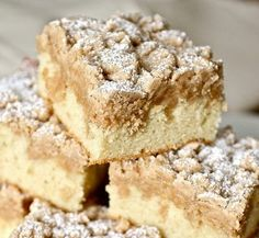 New York Style Crumb Cake - Click For Recipe