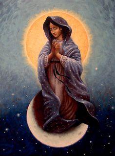 Mary Queen of Heaven by Timothy Jones.