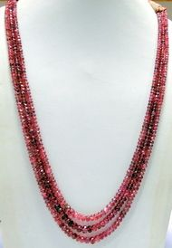 Natural Faceted Tourmaline gemstones  beads strands necklace