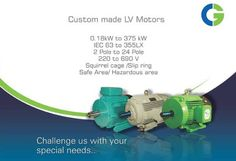 Custom Made Non-standard Indent Motors