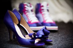 Purple and Pink shoes