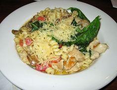 Freedom Pasta Recipe from Liberty Tree Tavern at Magic Kingdom in Disney World