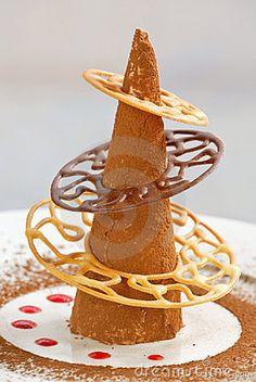 Creative Chocolate Dessert