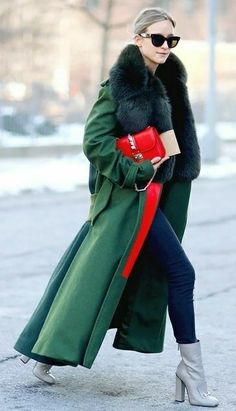 8786af5bf3f love this winter color combo, edgy chic winter outfit idea for young women,  trendy winter outfit for women in their or