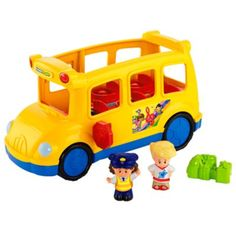 Little People® Lil' Movers™ School Bus | BrandsLittlePeople | Fisher Price